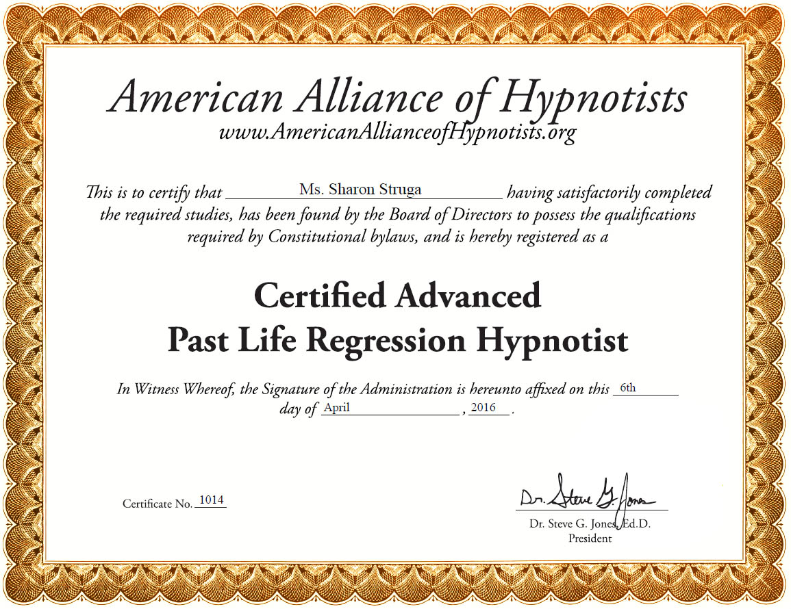 Past Life Regression Hypnotist
